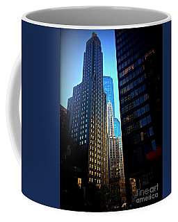 Golden Hour Reflections - City Of Chicago Coffee Mug