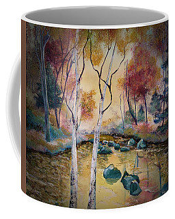Golden Illumination Coffee Mug