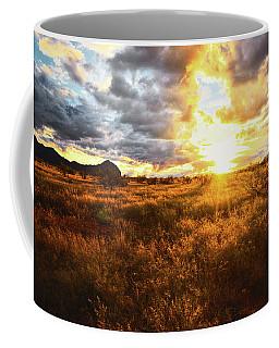 Golden Light Of Southern Arizona Coffee Mug