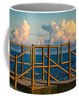 Golden Railings Coffee Mug