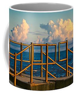 Golden Railings Coffee Mug