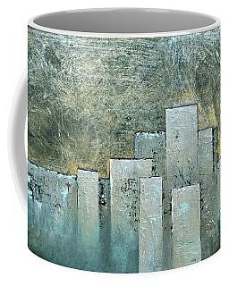 Golden Skyline II Coffee Mug