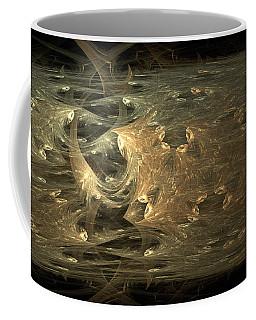 Golden Soul - Modern Abstract Art Coffee Mug