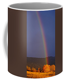 Golden Tree Rainbow Coffee Mug