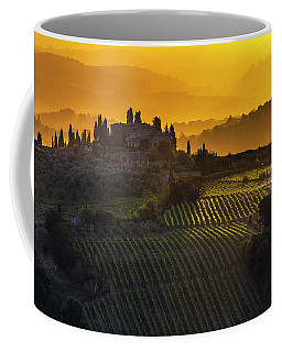 Golden Tuscany Coffee Mug