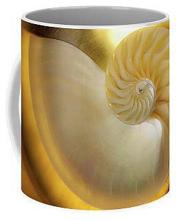 Coffee Mug featuring the photograph Golden_nautilus_0692 by Mark Shoolery