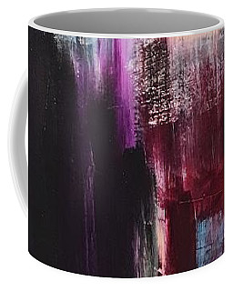 Coffee Mug featuring the painting Good And Evil by Rebecca Davidson