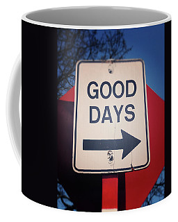 Good Days- Art By Linda Woods Coffee Mug