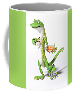 Good Morning Gecko Coffee Mug