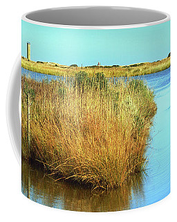 Coffee Mug featuring the photograph Gordon's Pond State Park Panorama by Bill Swartwout Fine Art Photography