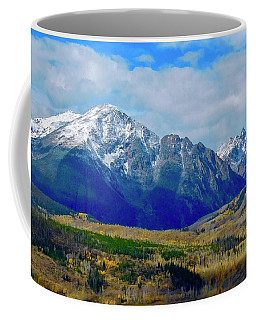 Coffee Mug featuring the photograph Gore Mountain Range by Dan Miller