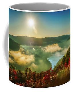 Coffee Mug featuring the photograph Gorge Sunrise by Meta Gatschenberger