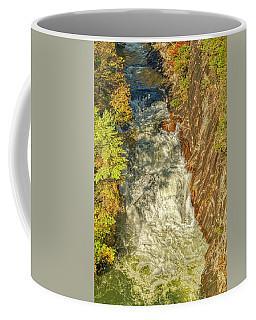 Coffee Mug featuring the photograph Gorge Waterfall by Meta Gatschenberger