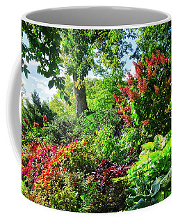 Coffee Mug featuring the photograph Gorgeous Gardens At Cornell University - Ithaca, New York by Lynn Bauer