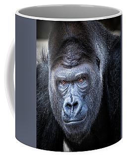Coffee Mug featuring the photograph Gorrilla  by Robert Bellomy