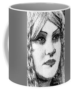 Goth Headshot Coffee Mug