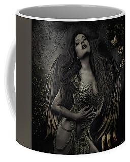 Gothic Angel, Aurelia Coffee Mug