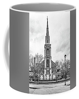 Grace Methodist Church 1888 Bw Coffee Mug