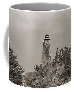 Graceful Evening Bald Head Island Lighthouse Coffee Mug