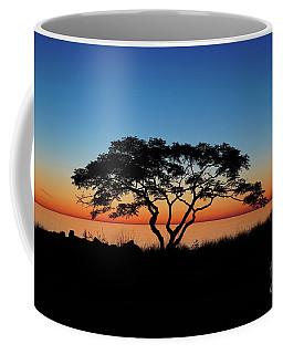 Graduated Sunrise Silhouette Coffee Mug