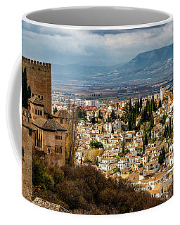 Granada And La Alhambra Coffee Mug