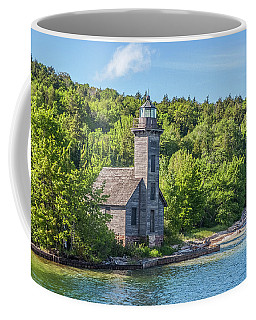 Grand Island East Channel Lighthouse, No. 2 Coffee Mug