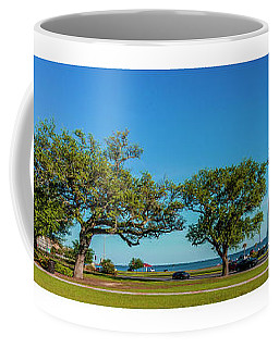 Grand Old Lighthouse Biloxi Ms Collage A1e Coffee Mug