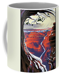 Grand Canyon Christmas Coffee Mug