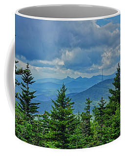 Coffee Mug featuring the photograph Grandmother Mountain by Meta Gatschenberger