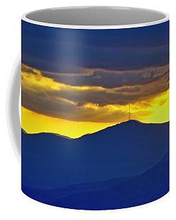 Grandmother Mountain Sunset Coffee Mug