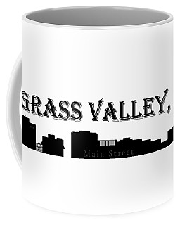 Grass Valley Skyline Coffee Mug