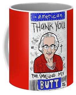 Coffee Mug featuring the digital art Gratitude by Rick Baldwin