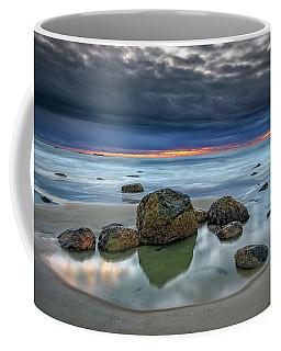 Coffee Mug featuring the photograph Gray Morning On Wells Beach by Rick Berk