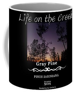Gray Pine Coffee Mug