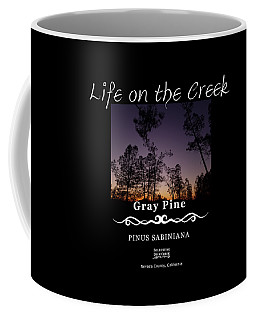 Gray Pine Coffee Mug