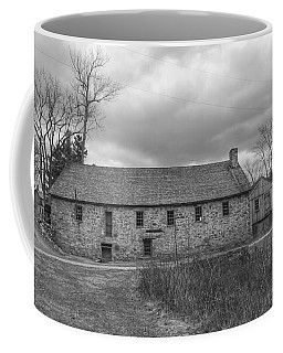 Grey Skies Over Fieldstone - Waterloo Village Coffee Mug