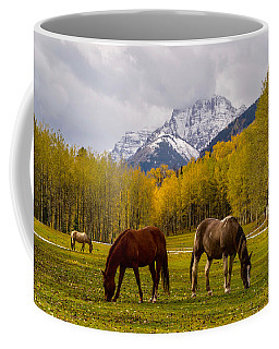 Grazing In Aspen Coffee Mug