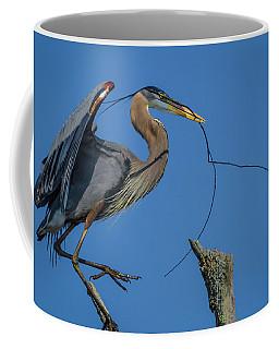 Great Blue Heron 4034 Coffee Mug