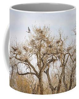 Great Blue Heron Rookery Coffee Mug