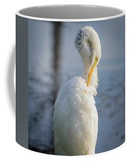 Great Egret - Preening Time Coffee Mug