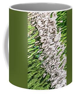 Green And Gray Coffee Mug