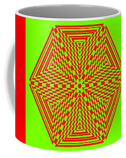 Green And Red Fusion  Coffee Mug