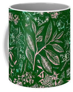 Green Composition Coffee Mug