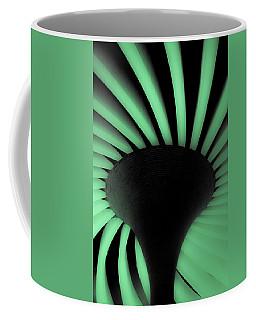 Green Fan Ceiling Coffee Mug