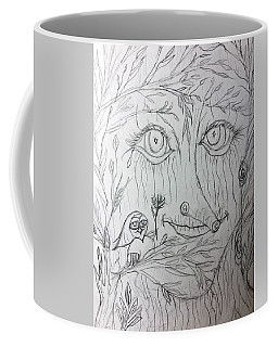 Green Man Of The Forest Coffee Mug