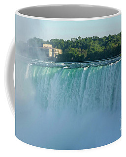 Green Overflow Coffee Mug
