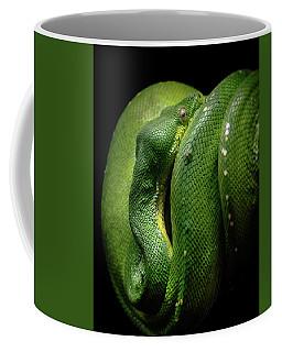 Green Tree Boa Coffee Mug