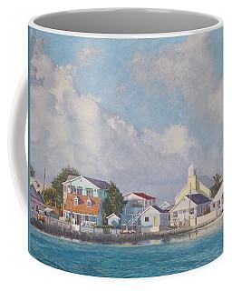 Green Turtle Cay Water Front Coffee Mug