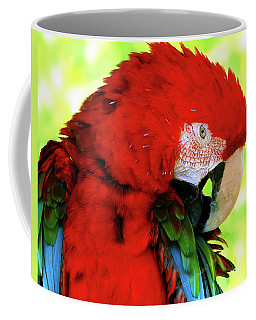 Green-winged Macaw Coffee Mug