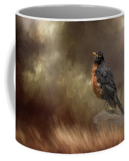 Greeting Autumn Coffee Mug